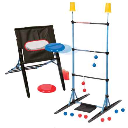 Majik Ladderball, Disc Toss and Target Toss - 3-Game Set in See Photo - Closeouts