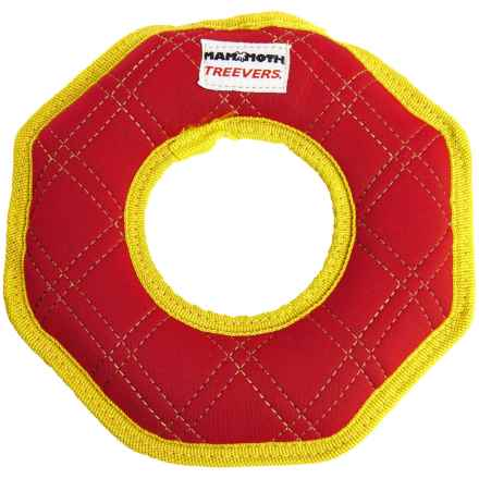 Mammoth Pet Products Treevers Dog Toy in Red Ring - Closeouts