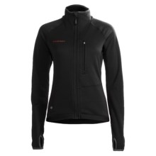 Mammut Aconcagua Jacket - Polartec® Power Stretch®, Fleece (For Women) in Black - Closeouts