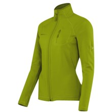 Mammut Aconcagua Jacket - Polartec® Power Stretch®, Fleece (For Women) in Peridot - Closeouts