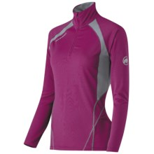 Mammut Aelectra Shirt - Long Sleeve (For Women) in Mallow/Shale - Closeouts