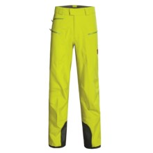 Mammut Alagna Gore-Tex® Pants - Waterproof Soft Shell , Nylon-PTFE (For Men) in Oasis - Closeouts