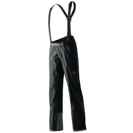 Mammut Albaron Gore-Tex® Soft Shell Snow Pants - Waterproof (For Men) in Black
