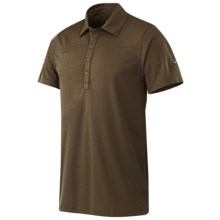 Mammut Alex Polo Shirt - UPF 40+, Short Sleeve (For Men) in Ivy - Closeouts