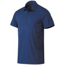 Mammut Alex Polo Shirt - UPF 40+, Short Sleeve (For Men) in Space - Closeouts