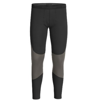 Mammut All-Year Base Layer Bottoms - Midweight (For Men) in Graphite/Black