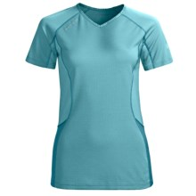 Mammut All-Year Base Layer T-Shirt - Short Sleeve (For Women) in Turquoise - Closeouts