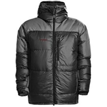 Mammut Ambler Down Hooded Jacket - 800 Fill Power (For Men) in Black/Carbon - Closeouts