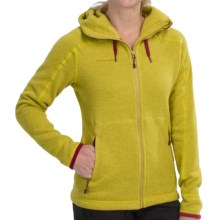 Mammut Arctic Hooded Jacket - Polartec® Thermal Pro® Fleece (For Women) in Salamander - Closeouts