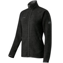 Mammut Arctic Jacket - Fleece (For Women) in Black - Closeouts