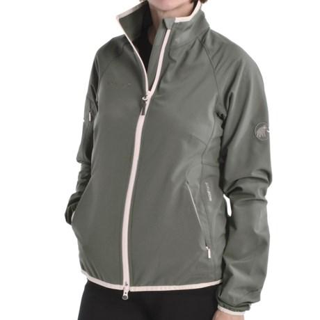 Mammut Areana  Soft Shell Jacket (For Women) in Smoke