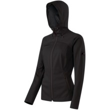 Mammut Blask Soft Shell Jacket (For Women) in Black - Closeouts