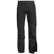 Mammut Castor Pants - Soft Shell (For Men) in Black - Closeouts
