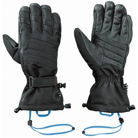 Mammut Comfort Pro Gloves - Waterproof, Insulated (For Men) in Black
