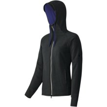 Mammut Corona Hooded Jacket - Insulated, (For Women) in Black/Twilight - Closeouts