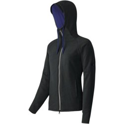 Mammut Corona Hooded Jacket - Insulated, (For Women) in Black/Twilight