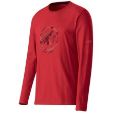 Mammut Cruise T-Shirt - Organic Cotton, Long Sleeve (For Men) in Inferno - Closeouts