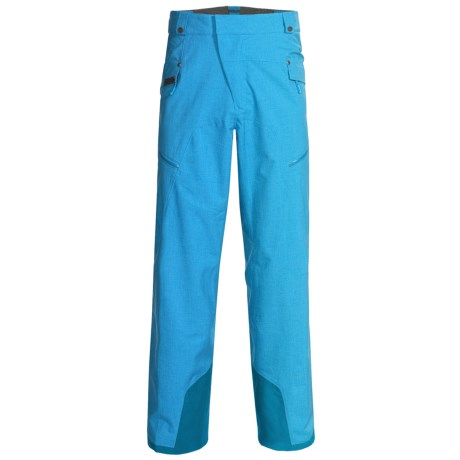 Mammut Dobson Snow Pants - Waterproof (For Men) in Cyan