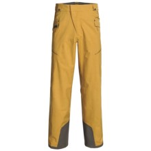 Mammut Dobson Snow Pants - Waterproof (For Men) in Honey - Closeouts
