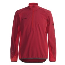 Mammut Jasper Pullover - Zip Neck (For Men) in Chilli/Fire - Closeouts