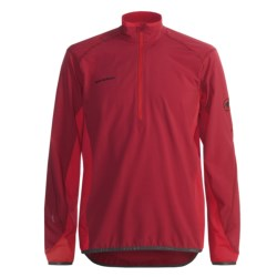 Mammut Jasper Pullover - Zip Neck (For Men) in Chilli/Fire