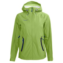 Mammut Keiko Jacket - Waterproof (For Women) in Basilic - Closeouts