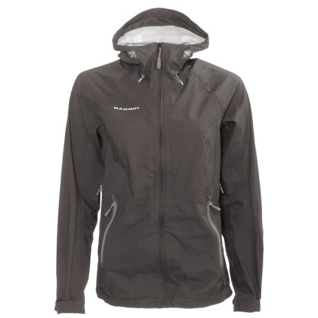 Mammut Keiko Jacket - Waterproof (For Women) in Graphite