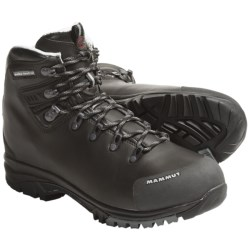 Mammut Kootenay 5 Hiking Boots - Leather (For Women) in Dark Brown
