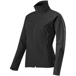Mammut Ladakh Soft Shell Jacket (For Women) in Black