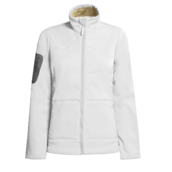 Mammut Lhasa Jacket - Soft Shell (For Women) in White
