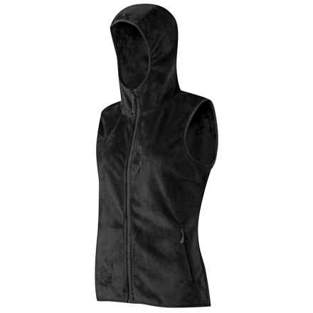 Mammut Loft Fleece Vest (For Women) in Black/Black - Closeouts
