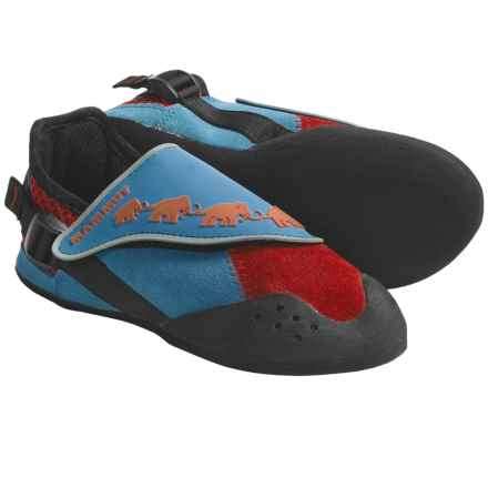 Mammut Minifant Climbing Shoes (For Kids) in Blue/Red - Closeouts