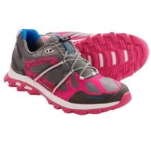 Mammut MTR 141 Trail Running Shoes (For Women) in Grey/Raspberry - Closeouts
