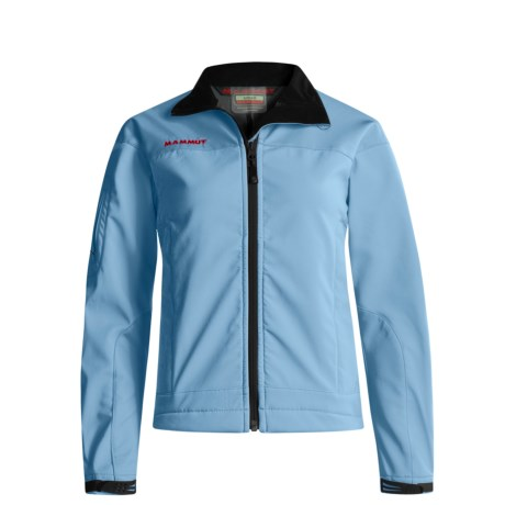 Mammut Nimba Soft Shell Jacket (For Women) in Alaskan Blue