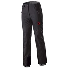 Mammut Nimba Soft Shell Pants (For Women) in Black - Closeouts