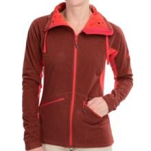 Mammut Niva Fleece Jacket (For Women) in Poppy Melange - Closeouts