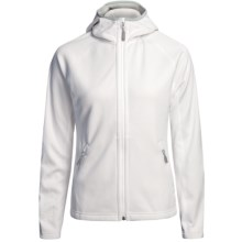 Mammut Outline Fleece Jacket (For Women) in White - Closeouts