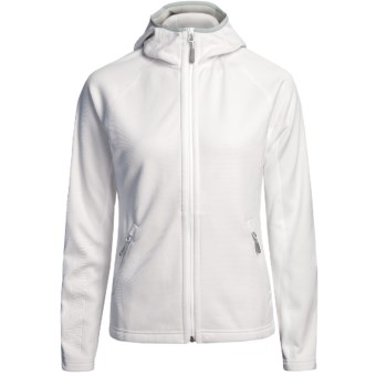 Mammut Outline Fleece Jacket (For Women) in White