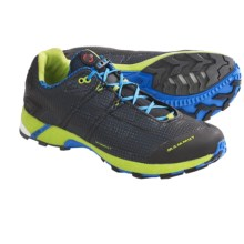 Mammut Remote Trail Running Shoes (For Men) in Black/Riviera - Closeouts