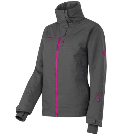 Mammut Robella Jacket - Waterproof, Insulated (For Women) in Graphite/Raspberry