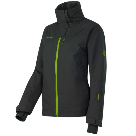 Mammut Robella Jacket - Waterproof, Insulated (For Women) in Graphite