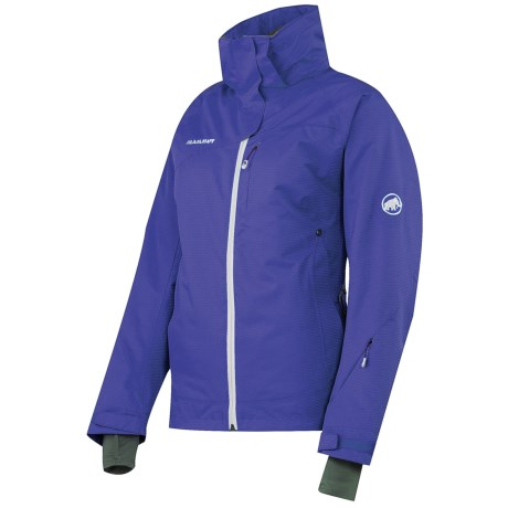 Mammut Robella Jacket - Waterproof, Insulated (For Women) in Maliblue