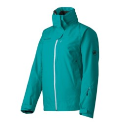 Mammut Robella Jacket - Waterproof, Insulated (For Women) in Plum