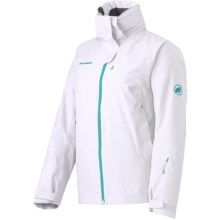 Mammut Robella Jacket - Waterproof, Insulated (For Women) in White/Palau - Closeouts