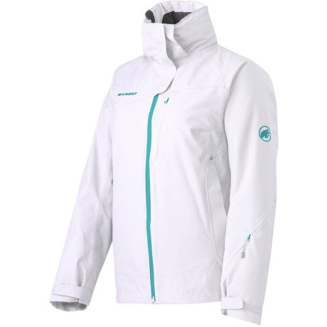 Mammut Robella Jacket - Waterproof, Insulated (For Women) in White/Palau