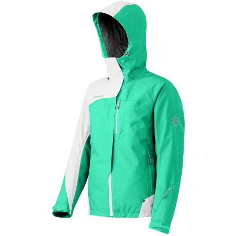 Mammut Rocca DRYTech® Jacket - Insulated (For Women) in Reed/White