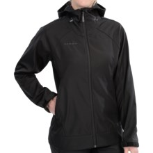 Mammut Sarita Soft Shell Jacket (For Women) in Black - Closeouts