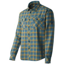 Mammut Shepody Shirt - Long Sleeve (For Men) in Goa/Yolk - Closeouts