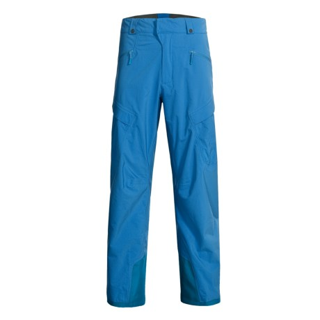 Mammut Stoney Snow Pants - Waterproof (For Men) in Cyan