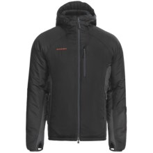 Mammut Stratus Hooded Jacket - Insulated (For Men) in Black/Graphite - Closeouts